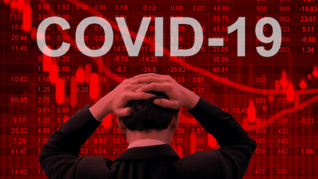 Covid-19 epidemic making world economy in serious crisis.